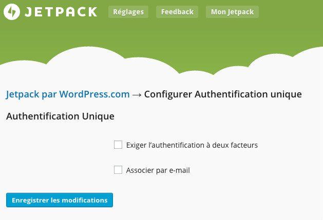 Authentification JetPack