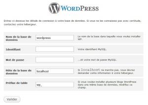Installation de WordPress : personnalisez tout ça !