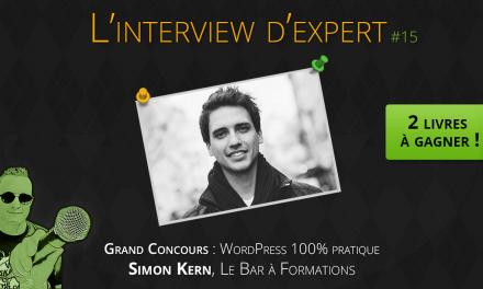Simon Kern – Concours : 2 livres à gagner !