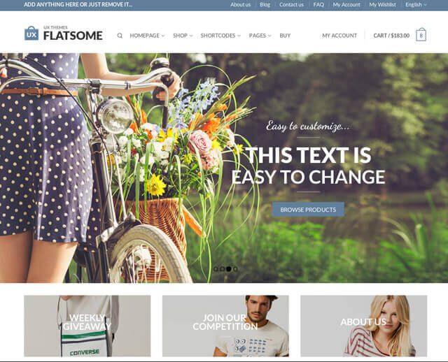 FlatSome est l'un des meilleurs thèmes WordPress les plus populaires