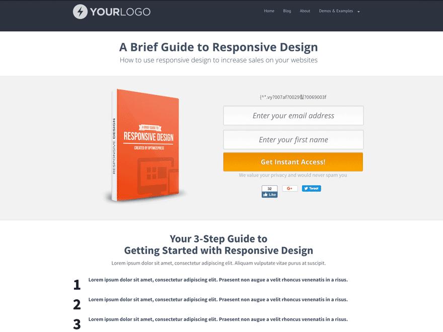 Avis comparatif sur le meilleur thème WordPress OptimizePress création de pages de vente pour créer des landing pages avec WP