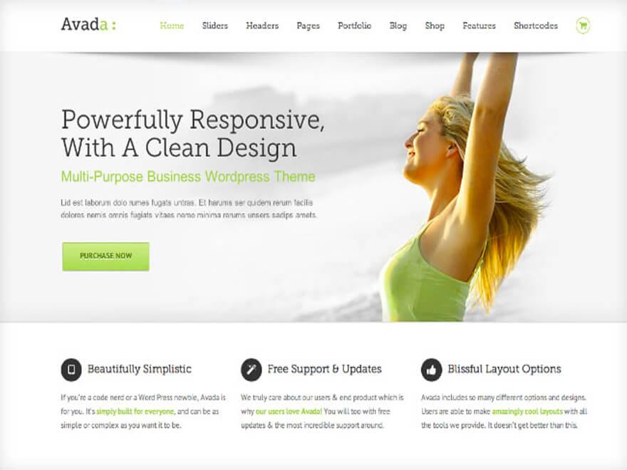 Avada est-il le meilleur thème WordPress sur ThemeForest ? Avis sur le thème Avada.