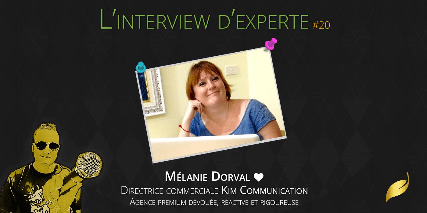 Mélanie Dorval (Kim Communication)