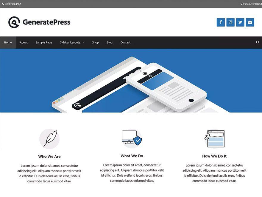 Avis sur le thème GeneratePress : est-ce que GeneratePress est le meilleur thème WordPress gratuit ?