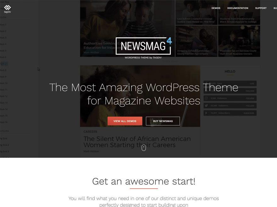 Avis comparatif sur le meilleur thème WordPress Newsmag