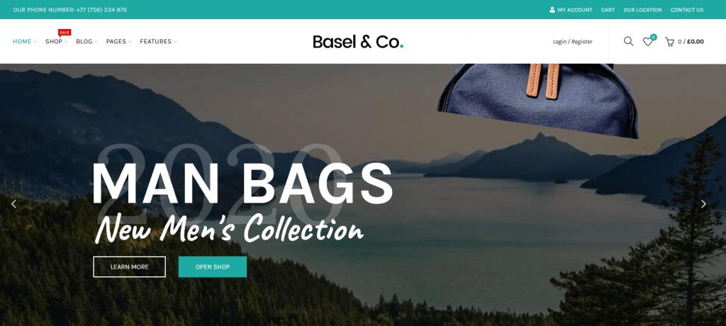 Basel & co : super thème eCommerce fashion