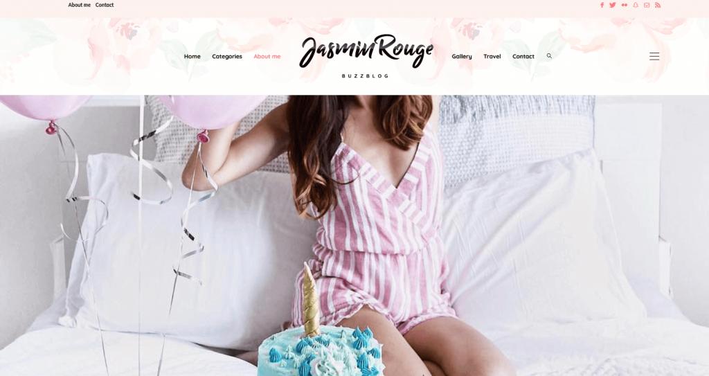 BlogBuzz : thème WordPress ultra girly pour blog mode / blog féminin