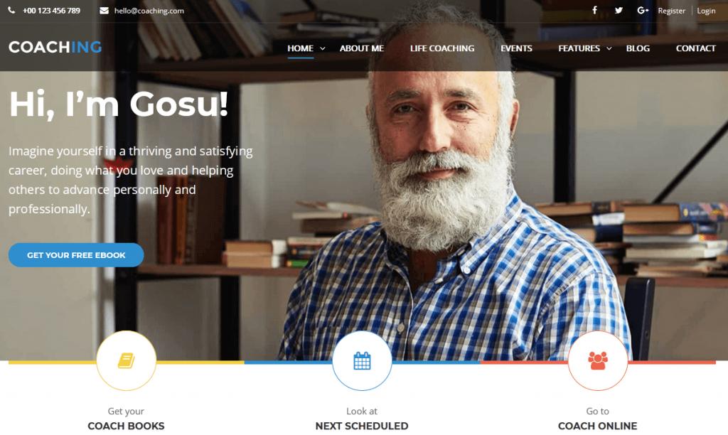 Colead : meilleur thème WordPress WooCommerce pour coachs