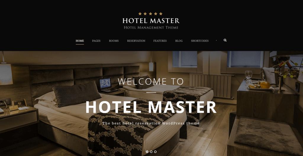 Hotel Master : meilleur thème WordPress WooCommerce pour petit hôtel, hostel, motel et boutique hôtel