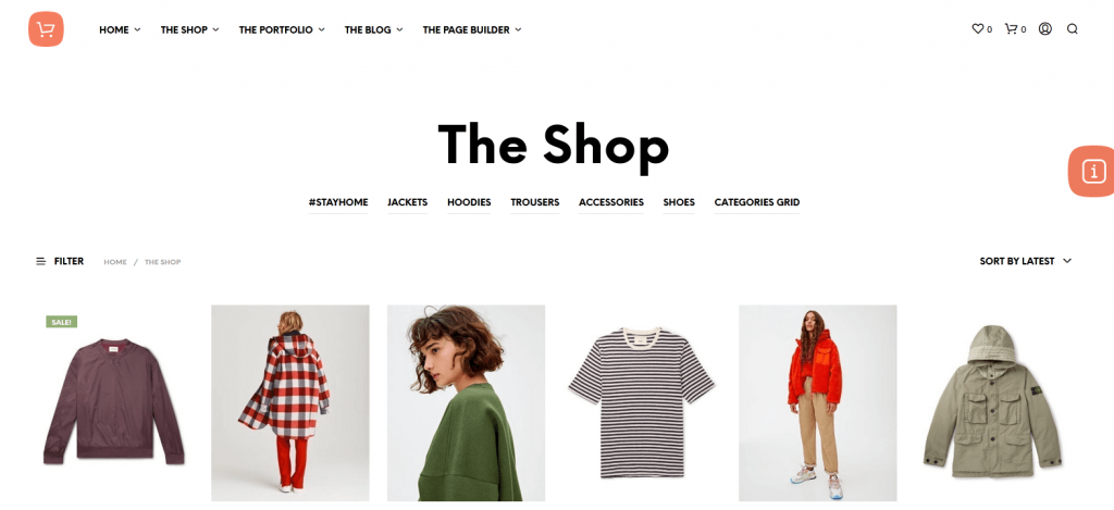 Shopkeeper : meilleur thème WordPress eCommerce (WooCommerce) minimaliste