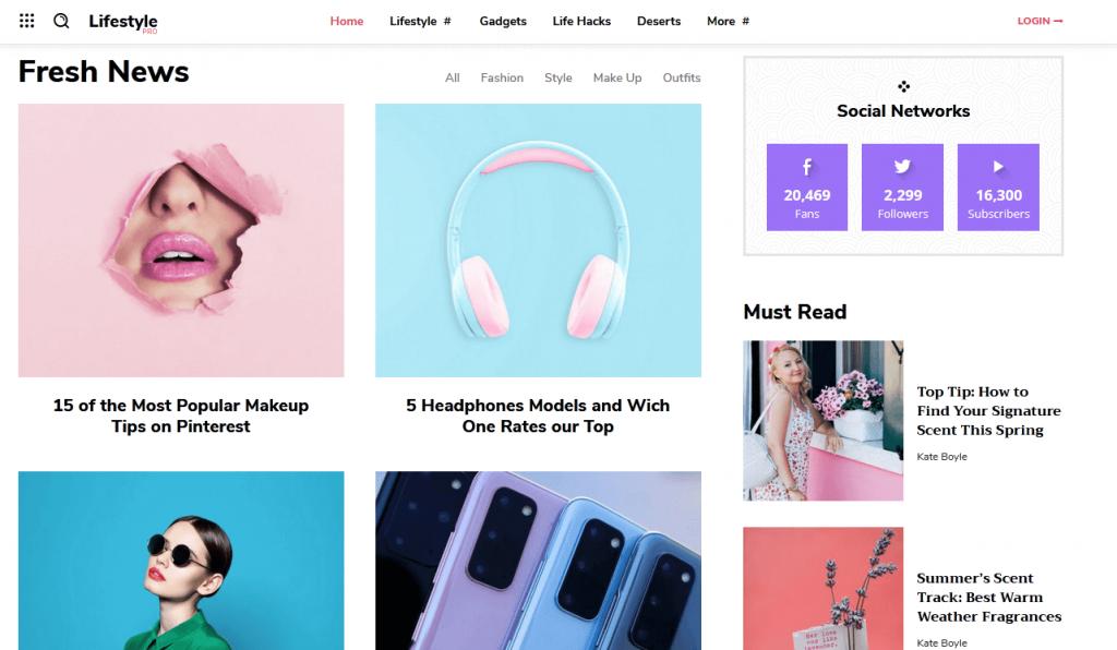 Newspapper : 2e meilleur thème WordPress pour sites de news et magazines en ligne