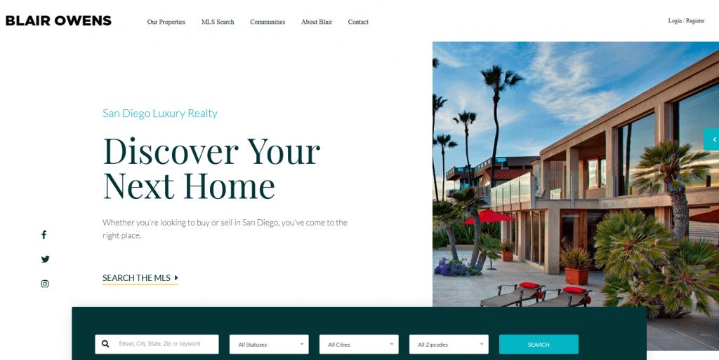 Real Estate 7 : 3e meilleur thème WP immobilier sur ThemeForest