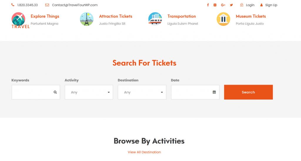 Travel Tour : meilleur thème pour un tour opérateur de voyage