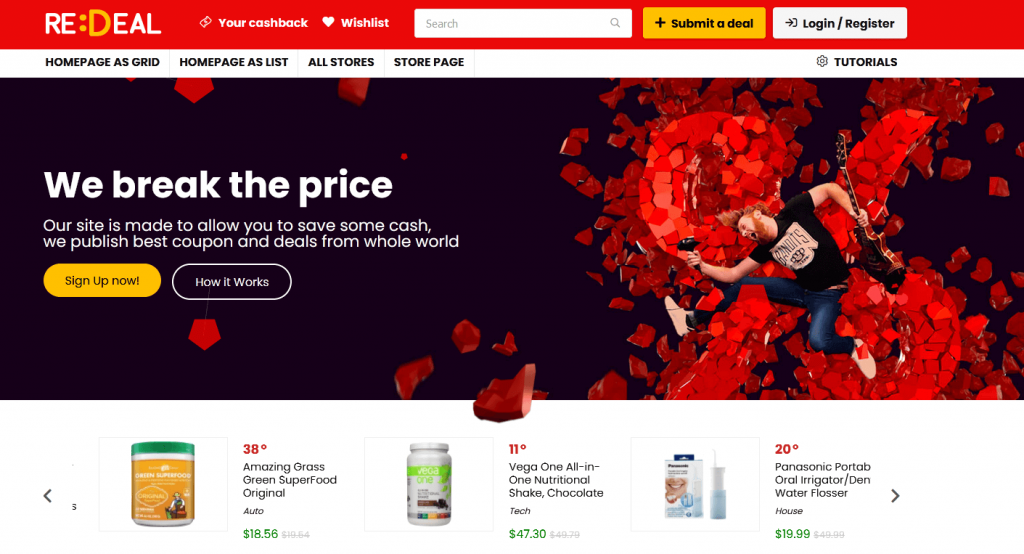 REHub : meilleur thème pour votre eCommerce multi-vendeurs