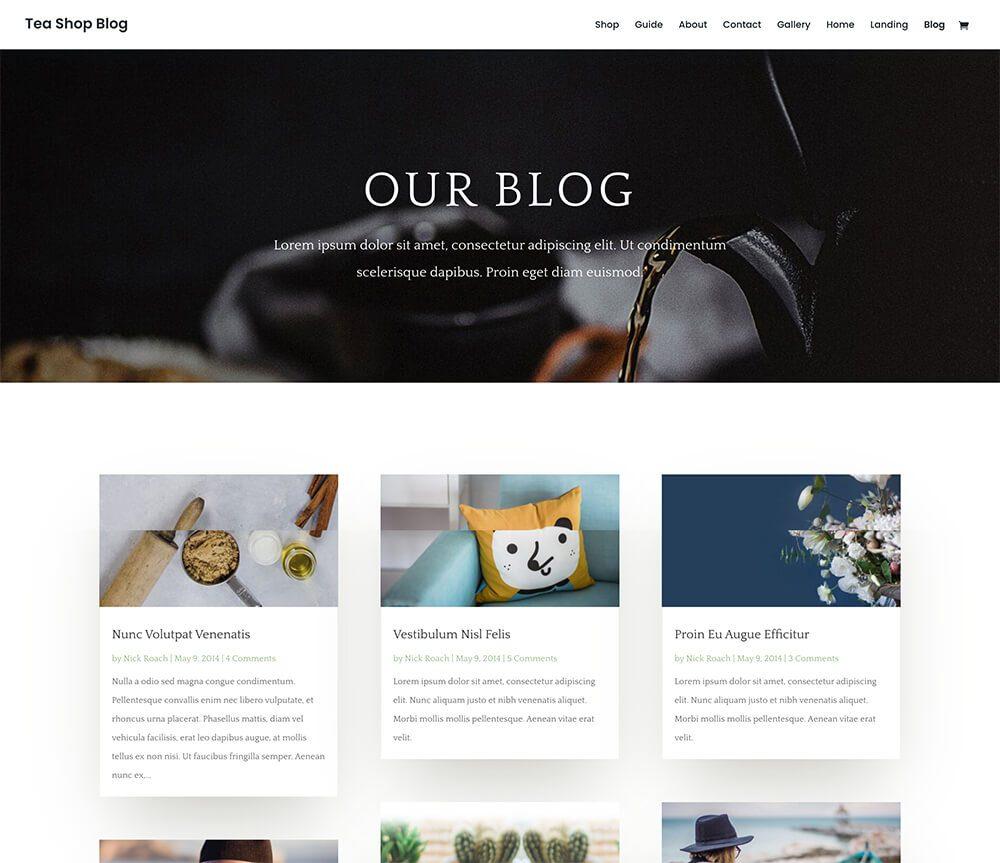 Divi : meilleur thème WordPress pour le blogging