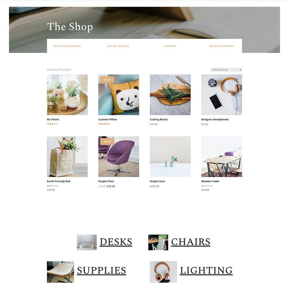 Divi : idéal pour votre site e-commerce parfait !