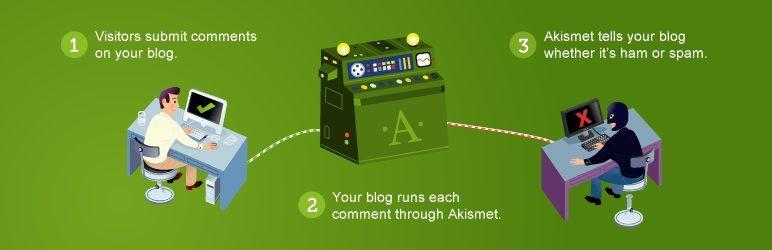 Akismet, le meilleur plugin indispensable pour bloquer les commentaires Spams