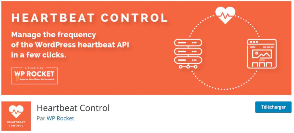 Heartbeat control, le meilleur plugin indispensable pour contrôler les battements de coeur de WordPress