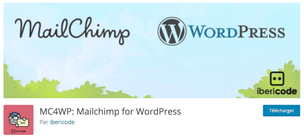 MC4WP, le meilleur plugin indispensable pour connecter MailChimp à WordPress