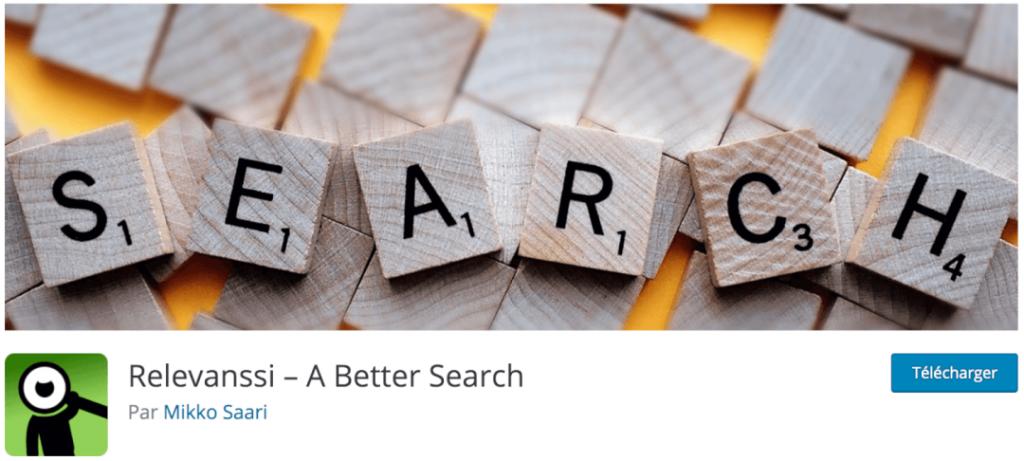 Relevanssi, le meilleur plugin indispensable pour affiner le moteur de recherche WordPress natif