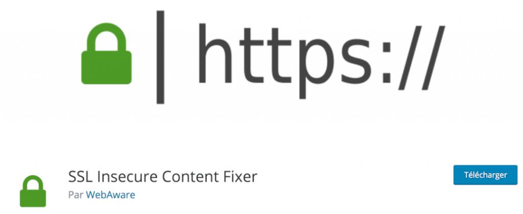 SSL Insecure Content Fixer, le meilleur plugin indispensable pour corriger les erreurs de Mixed Content