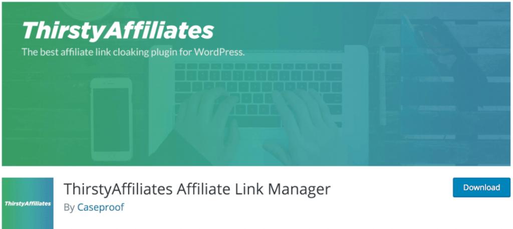 ThirstyAffiliates, le meilleur plugin indispensable pour intégrer des liens d'affiliations