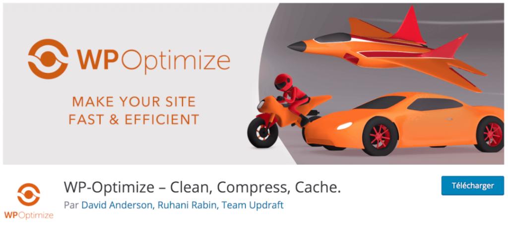 WP Optimize, le meilleur plugin indispensable pour optimiser vos bases de données